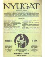 Nyugat  1999. (hasonmás kiadás) - Ignotus