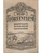Hadtörténelem 1921. 3. szám - Szelestey László