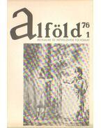 Alföld 1976/1. - Kovács Kálmán