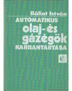 Automatikus olaj- és gázégők karbantartása - Bálint István