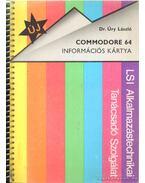 Commodore 64 információs kártya - Dr. Úry László