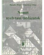 Német nyelvtani táblázatok - Emericzy Tibor, Bassola Péter