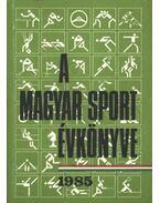A magyar sport évkönyve 1985 - Ládonyi László