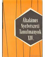 Általános nyelvészeti tanulmányok XIV. - Szépe György, Telegdi Zsigmond