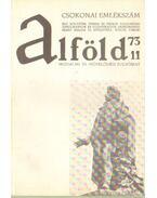 Alföld 1973/11. - Kovács Kálmán