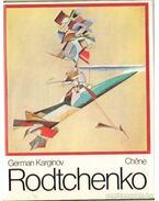 Rodtchenko - Karginov,German