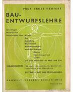 Bau-entwurfslehre (német) - Neufert, Ernst