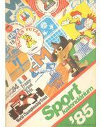 Sport kalendárium '85 - Z. Vincze György