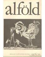 Alföld 1976/10. - Kovács Kálmán