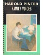 Family voices - Pinter, Harold
