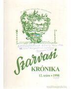 Szarvasi krónika 1998/12. szám (dedikált) - Dr. Kutas Ferenc