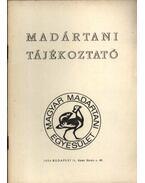 Madártani tájékoztató 1979. január-március - Szentendrey Géza