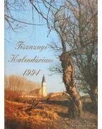 Tiszazugi kalendárium 1994 - Józsa László