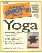 The complete idiot's guide to Yoga (angol-nyelvű) - Joan Budilovsky and Eve Adamson