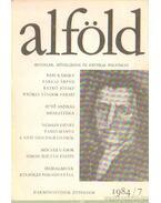 Alföld 1984/7. - Juhász Béla