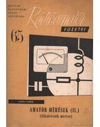 Amatőr mérések II. (Alkatrészek mérése) - Gonda Gábor