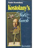 Kostolany's Notizbuch - André Kostolany