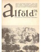Alföld 1974/8. - Kovács Kálmán