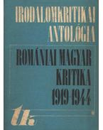 Romániai magyar kritika 1919-1944 - Csehi Gyula