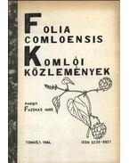 Folia Comloensis - Komlói Közlemények 1984/1 - Fazekas Imre