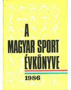 A magyar sport évkönyve 1986 - Ládonyi László
