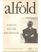 Alföld 1982/12. - Juhász Béla