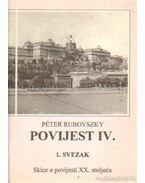 Povijest IV. - Rubovszky Péter