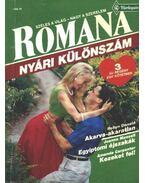 Akarva-akaratlan - Egyiptomi éjszakák - Kezeket fel 1992/3. Romana (Nyári különszám) - Mansell, Joanna, Donald, Robyn, Carpenter, Amanda