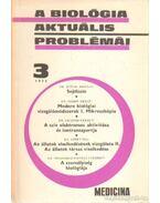 A biológia aktuális problémái  1975/3 - Dr. Csaba György