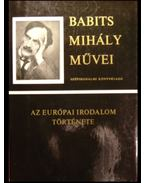 Az európai irodalom története - Babits Mihály
