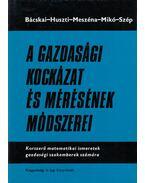 A gazdasági kockázat és mérésének módszerei - Bácskai Tamás, Huszti Ernő, Meszéna György, Mikó Gyula, Szép Jenő