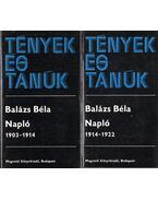 Napló I-II. - Balázs Béla