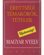 Érettségi témakörök, tételek - Magyar nyelv - Balázs Géza