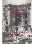 Óbuda ostroma (Dedikált) - Balázs Sándor