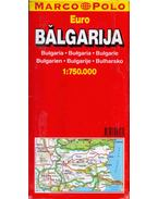 Balgarija karta