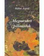 Megmentett pillanatok - Bálint Árpád