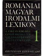 Romániai magyar irodalmi lexikon 1. A-F - Balogh Edgár