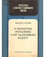 A parasztság művelődése a két világháború között - Balogh István