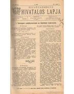 Biharvármegye hivatalos lapja 1911. (teljes) - Balogh János