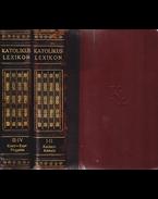 Katolikus lexikon. Szerkesztette Bangha Béla. I–IV. kötet. [Két kötetbe kötve, teljes.] - Bangha Béla