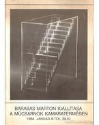 Barabás Márton kiállítása