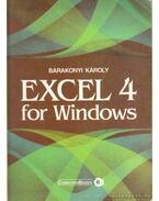 Excel 4 for Windows - Barakonyi Károly