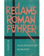 Reclams Romanführer III. - Beer, Johannes, Rang, Bernhard