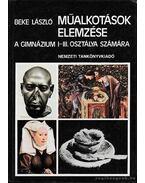 Műalkotások elemzése - Beke László
