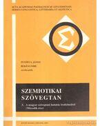 Szemiotikai szövegtan 3. - Békési Imre, Petőfi S. János