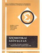 Szemiotikai szövegtan 6. - Békési Imre, Petőfi S. János, Vass László