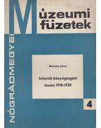 Schmidt bányaigazgató levelei 1918-1920 - Belitzky János