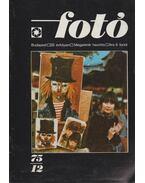 Fotó 1975/12 (dedikált) - Bence Pál