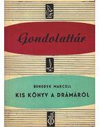 Kis könyv a drámáról - Benedek Marcell