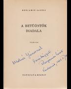 A betüöntők diadala. Versek (1938–1946). (Dedikált.) - Benjámin László